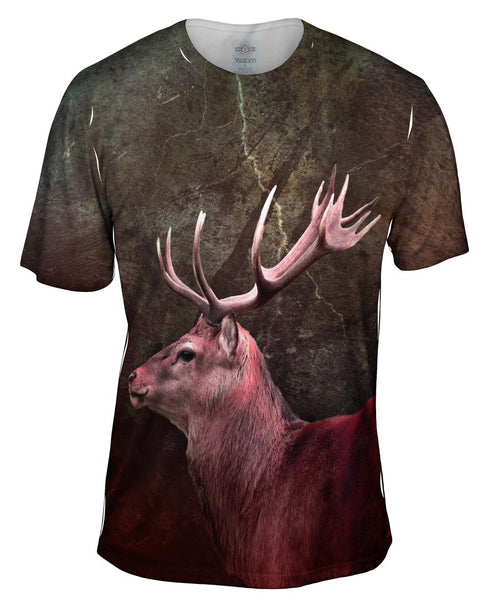 Metal Deer Mens T-Shirt