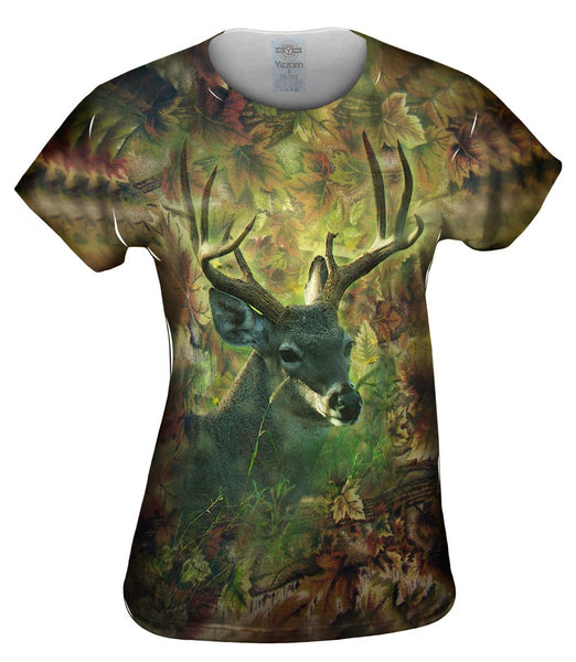 Leaf Stag Womens Top