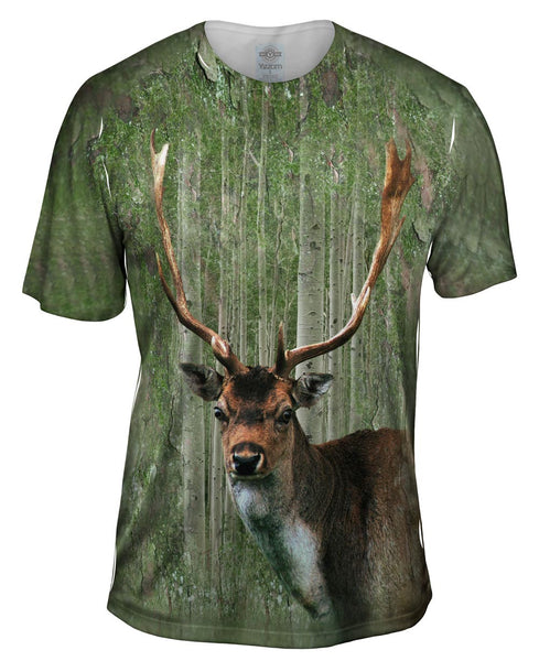 Moss Stag Mens T-Shirt