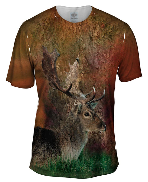 Brown Stag Mens T-Shirt