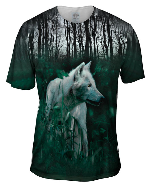 Forest Wolf Mens T-Shirt