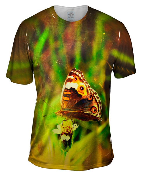 Butterfly Wolf Mens T-Shirt