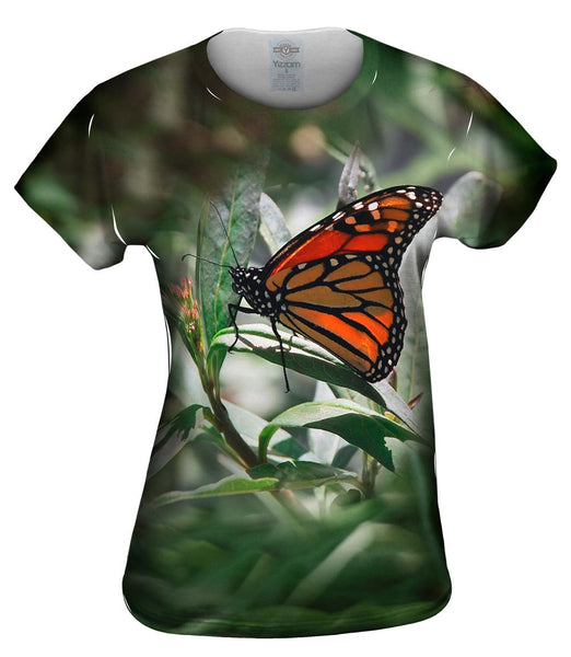 Mono Butterfly Womens Top