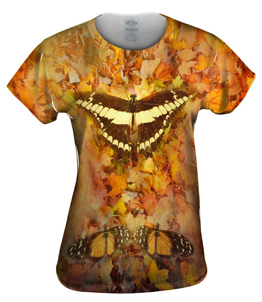 Maple Butterfly Womens Top