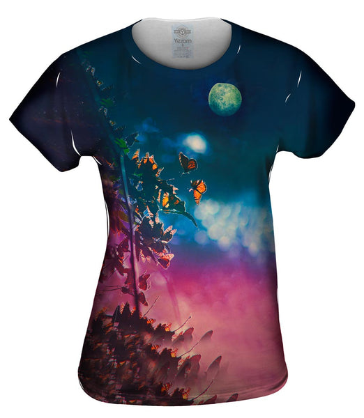 Moon Butterflies Womens Top