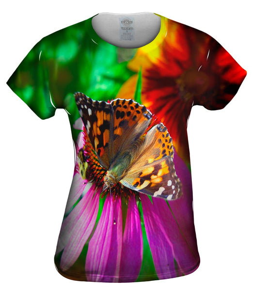 Bubble Butterfly Womens Top