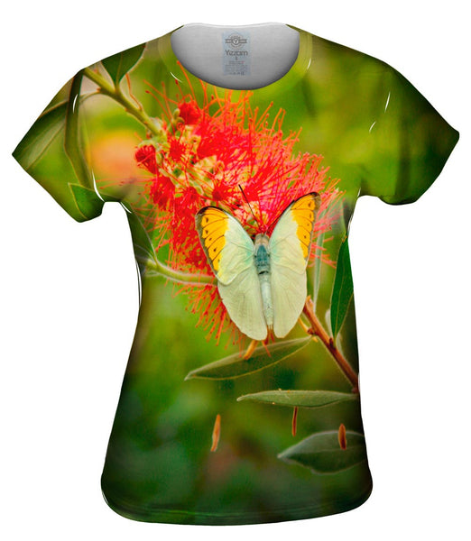 Mega Butterfly Womens Top