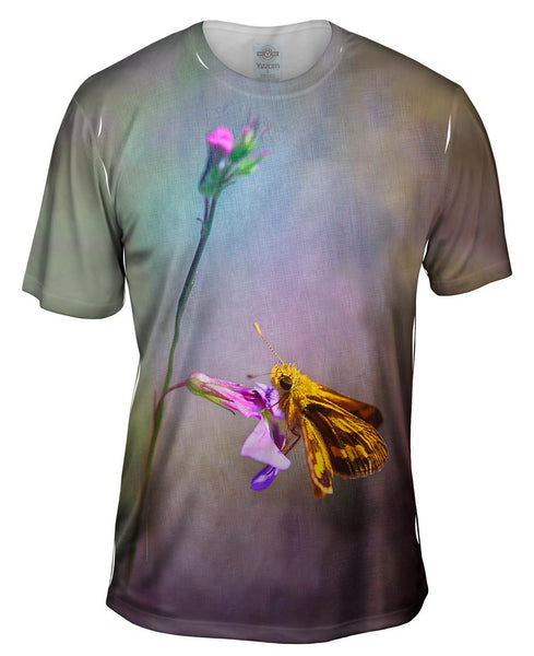 Ultra Violet Butterfly Mens T-Shirt