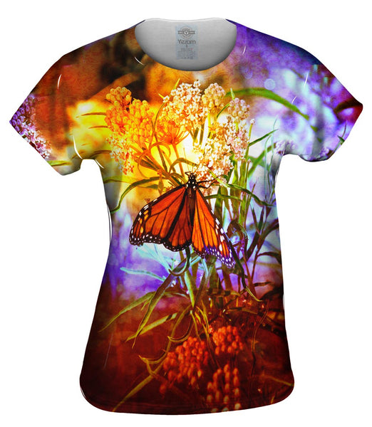 Poppy Butterfly Womens Top