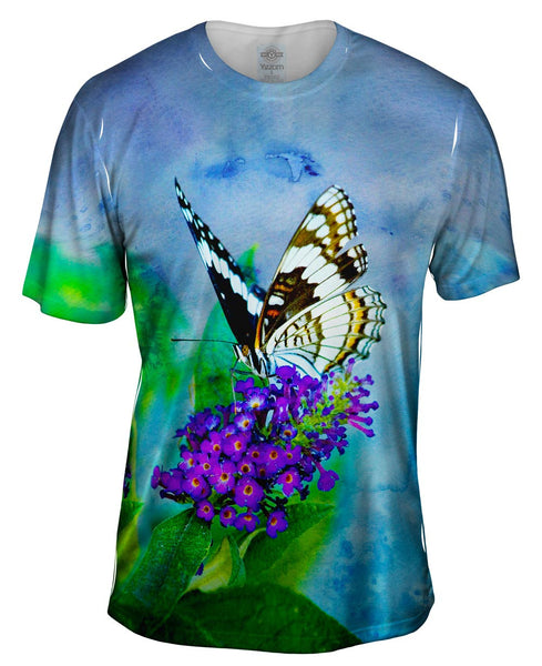 Water Color Butterfly Mens T-Shirt