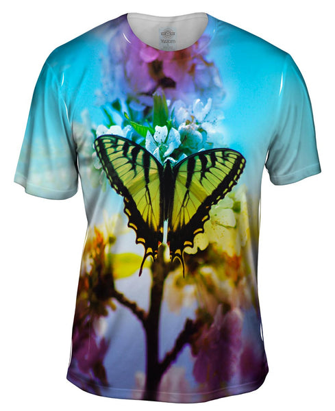 Lite Butterfly Mens T-Shirt