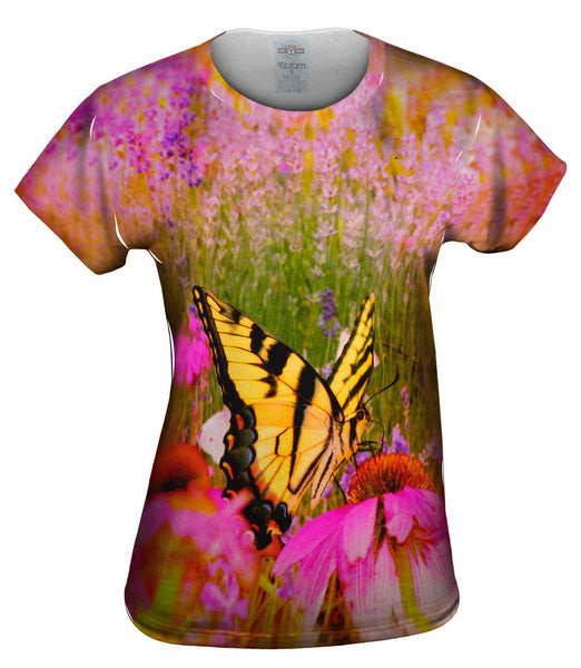 French Butterfly Womens Top