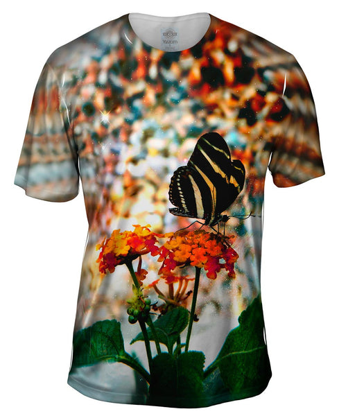 Pebble Butterfly Mens T-Shirt