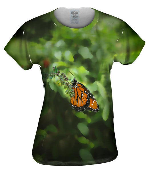 Garden Butterfly Womens Top