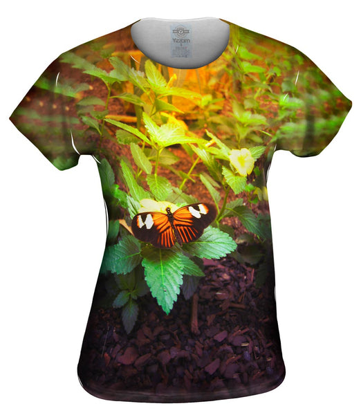 Morning Butterfly Womens Top