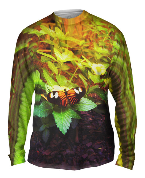 Morning Butterfly Mens Long Sleeve