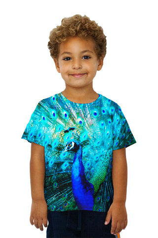 Kids Gold Peacock