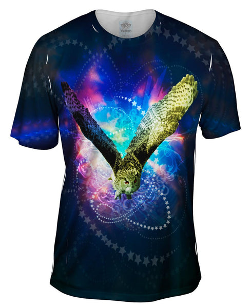 Uni Eagle Owl Mens T-Shirt