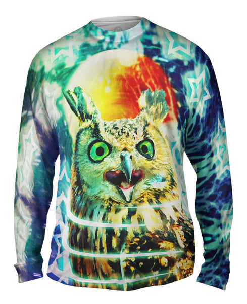 Scream Owl Mens Long Sleeve
