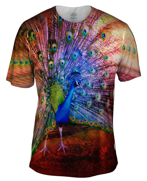 Street Peacock Mens T-Shirt