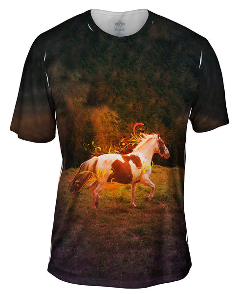 Ornament Horse Mens T-Shirt