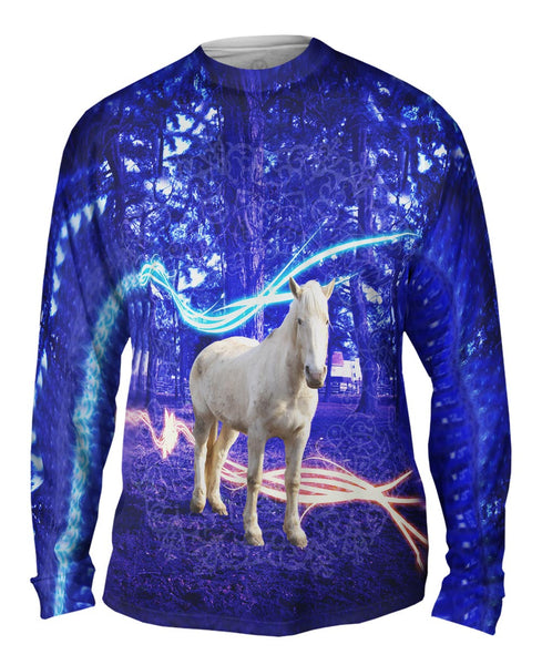 Fairy Horse Mens Long Sleeve