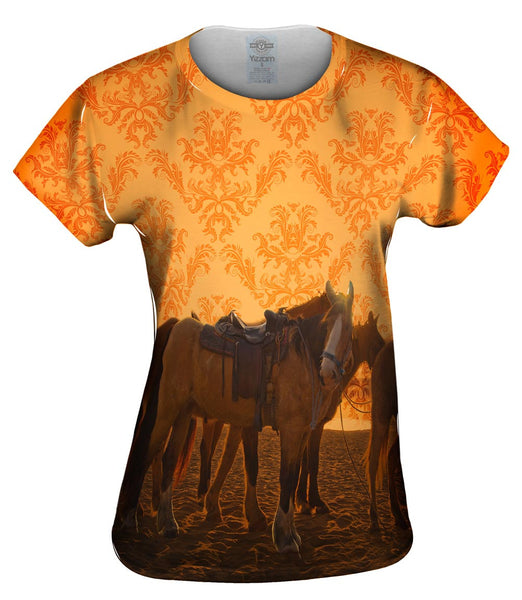 Sand Horse Womens Top
