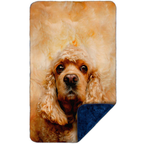 American Cocker Spaniel Face