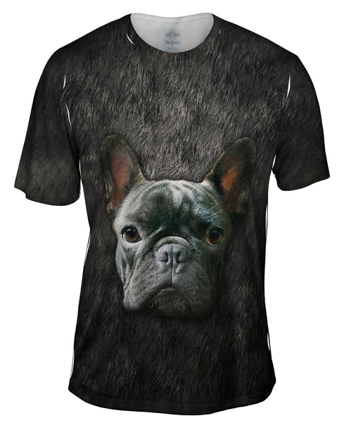 French Bulldog Face Mens T-Shirt