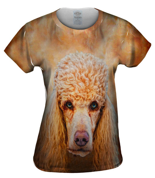 Poodle Face Womens Top