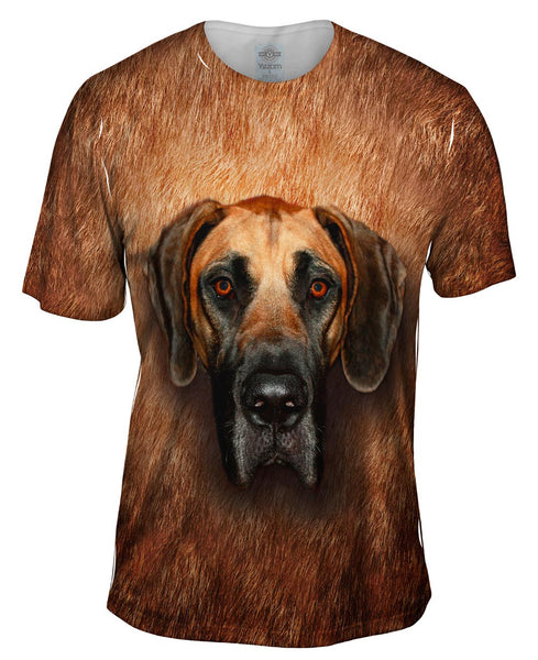 Great Dane Face Mens T-Shirt