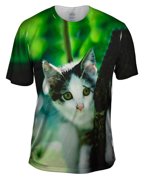 Globe Trek Kitten Mens T-Shirt