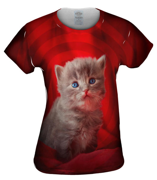 Super Baby Kitten Womens Top