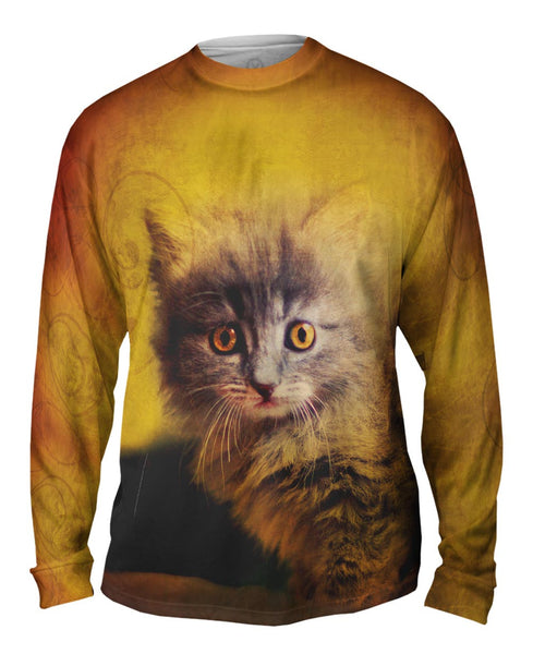 Oldie Kitten Mens Long Sleeve