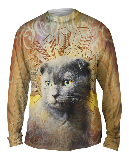 Lanka Kitten Mens Long Sleeve