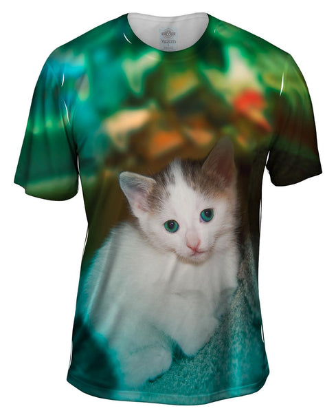 Relaxing Kitten Mens T-Shirt