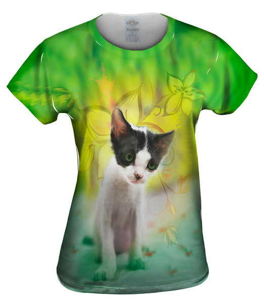 Tired Kitten Womens Top