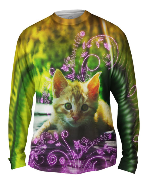 Princess Kitten Mens Long Sleeve