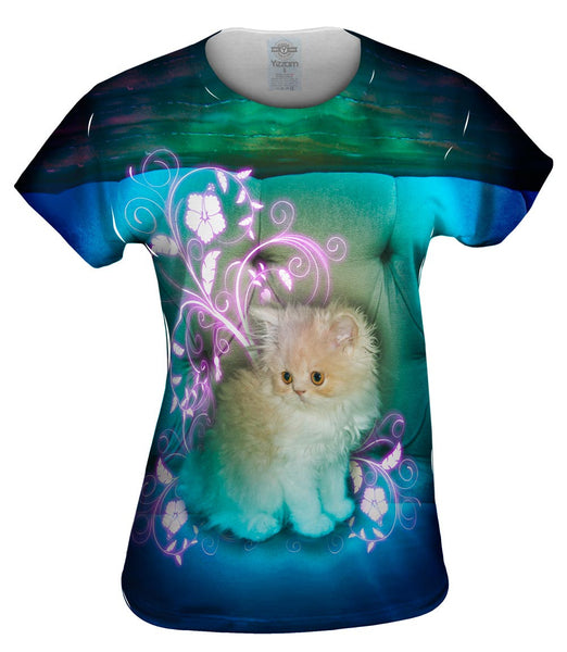Couch Kitten Womens Top