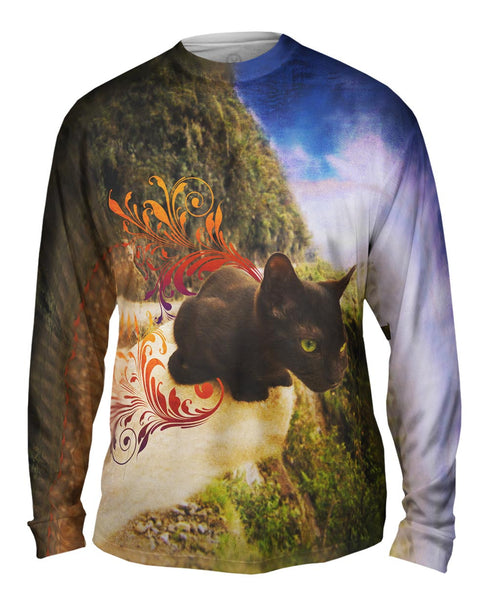 Cliff Kitten Mens Long Sleeve