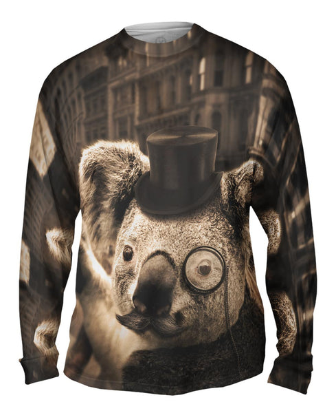 Sir Koala Mens Long Sleeve
