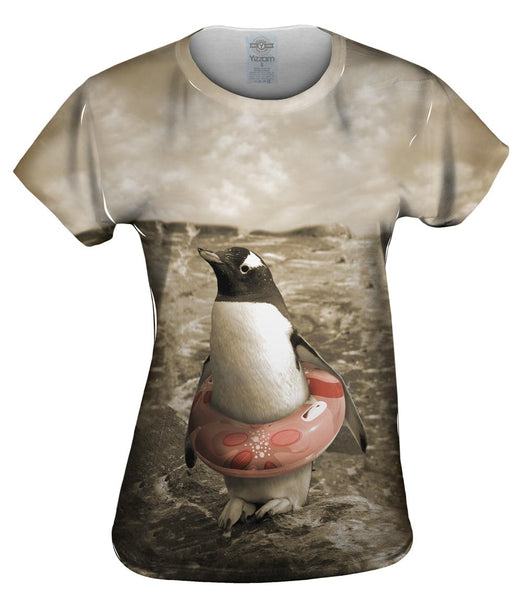 Safe Penguin Womens Top