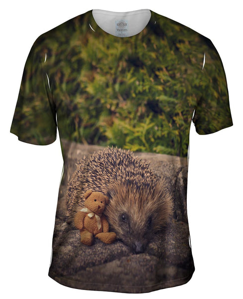 Sleepy Porcupine Mens T-Shirt