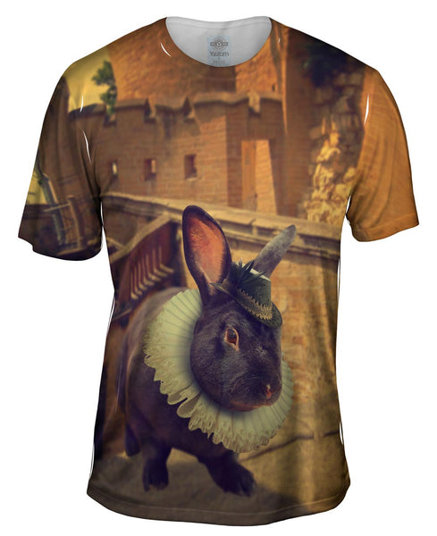 Elizabethan Rabbit Mens T-Shirt