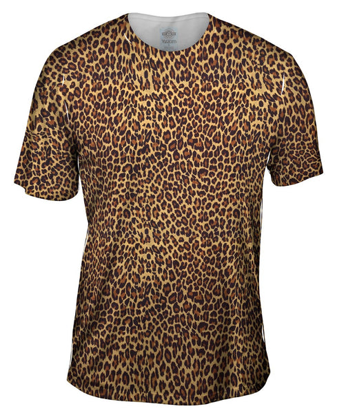 Cheetah Skin Mens T-Shirt