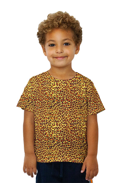 Kids Cheetah Skin Kids T-Shirt