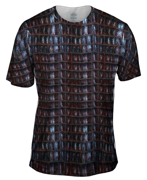 Crocodile Skin Mens T-Shirt