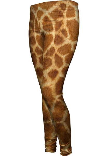 Giraffe skin Womens Leggings
