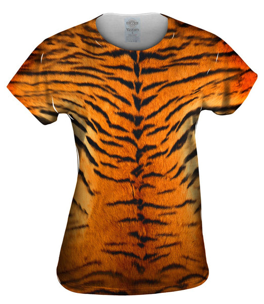 Tiger Skin Womens Top