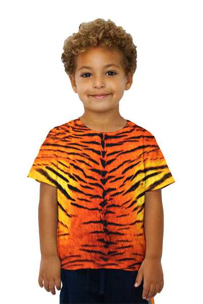 Kids Tiger Skin Kids T-Shirt